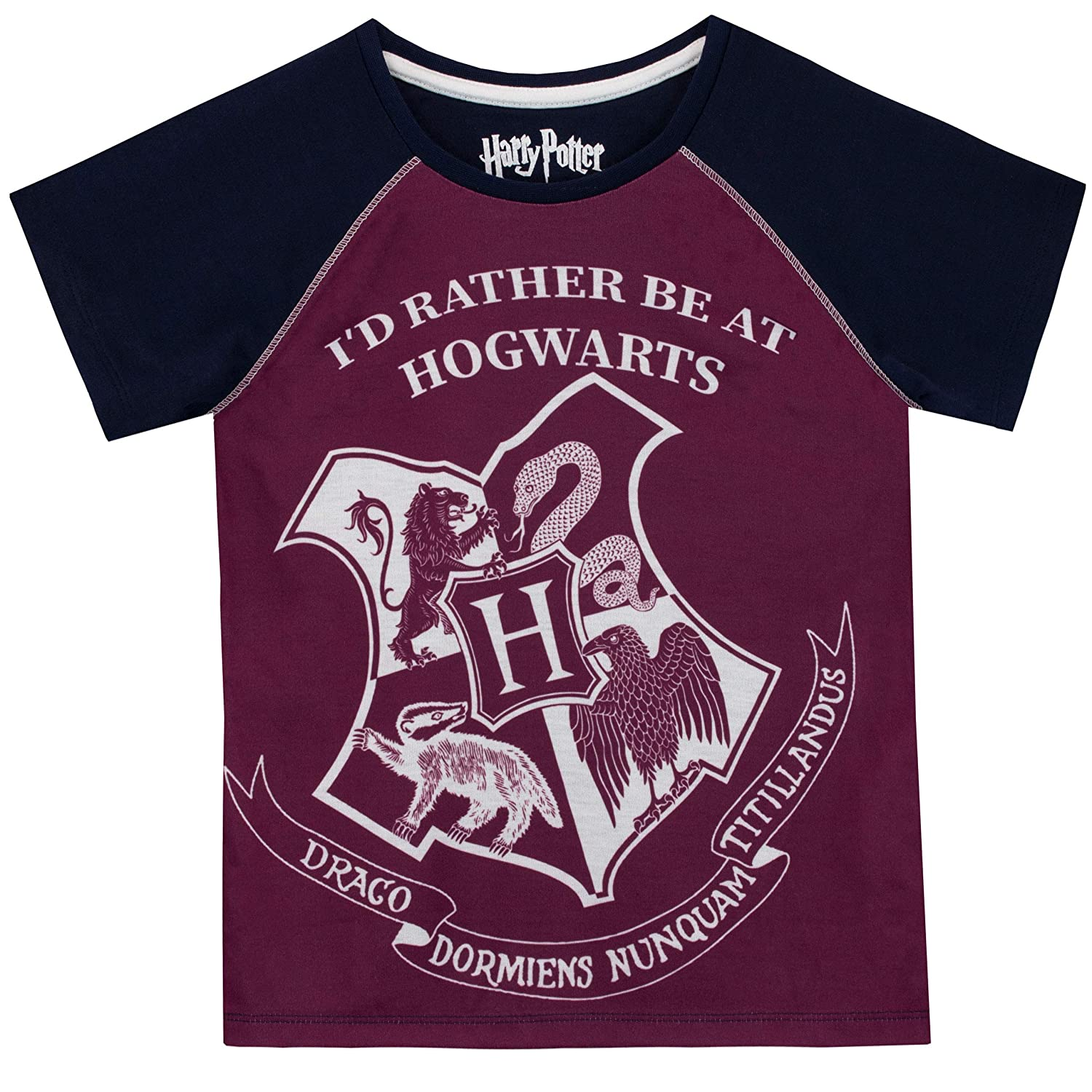 3d2dcdcf1 Amazon.com: HARRY POTTER Girls' Hogwarts Pajamas: Clothing