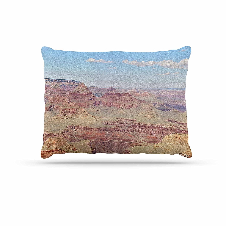 KESS InHouse Sylvia Coomes Grand Canyon Panoramic Nature Travel Dog Bed, 30  x 40