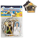 Amazon Com Nativity Playset For Children 19 Pieces By
