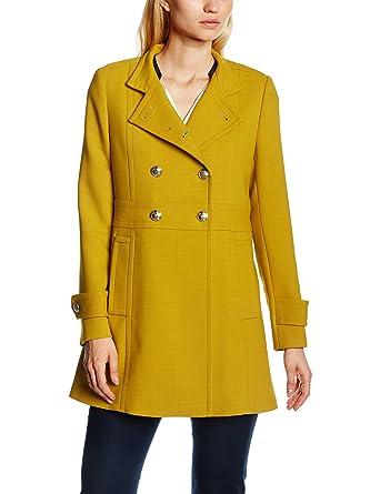 Tommy Hilfiger Nichelle Coat, Abrigo para Mujer, Amarillo (dark sundown yellow 744), XXL: Amazon.es: Ropa y accesorios