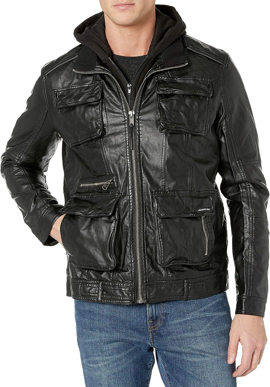 Mens Fur Lined Denim Trucker JacketEx Store RRP £65.00