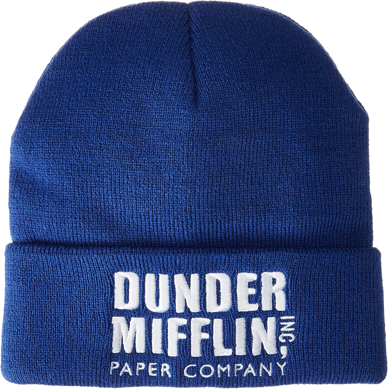 The Office Dunder Mifflin Watchman Beanie Cap Hat