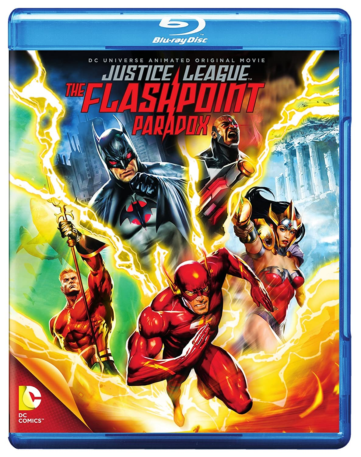 Dcu: Justice League - The Flashpoint Paradox 2 Blu-Ray ...