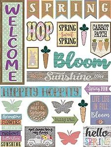 Teacher Created Resources Home Sweet Classroom Spring Mini Bulletin Board