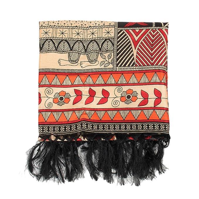 scarpe esclusive vendita calda online sito ufficiale Parfois - Sciarpa Africa Total Look - Donne - Taglie L - Arancione ...