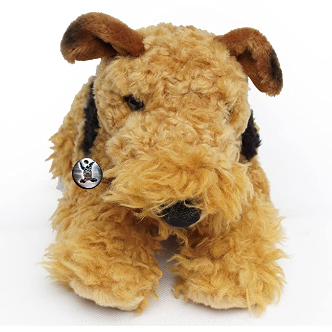 Terrier Toy da Airedale 42 Lying cm Dog Peluche Basco 4jqRL35A