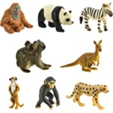 Safari Ltd. Good Luck Minis - Exotic Fun Pack - 8 Pieces - Quality Construction from Phthalate, Lead and BPA Free Materials - For Ages 5 and Up