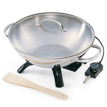 Presto 05900 fondue, gourmet y wok - Accesorio de cocina (Negro, Acero inoxidable