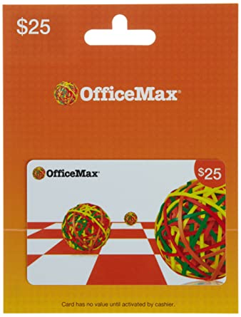 Office Max Gift Card $25