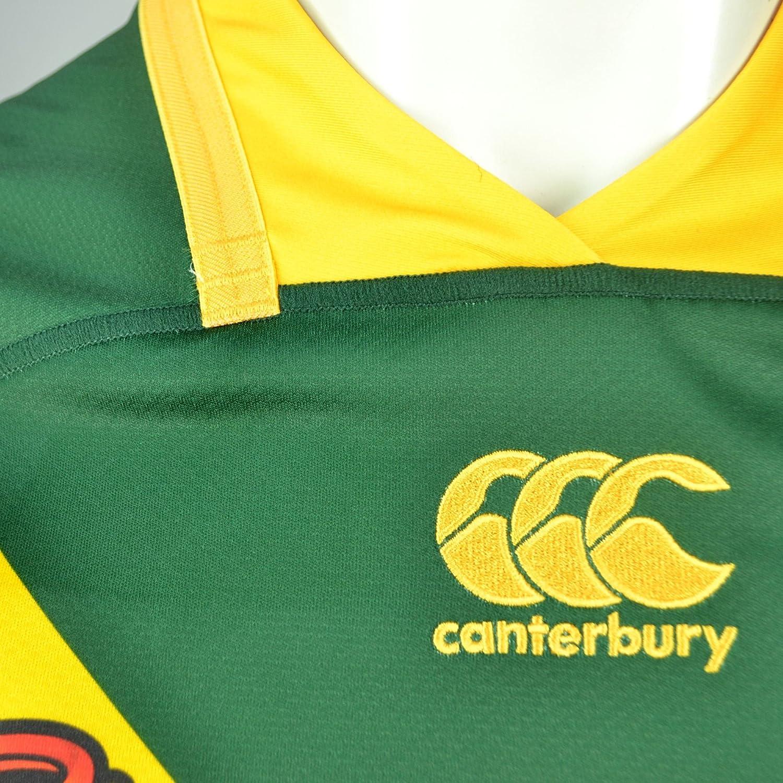 Australie Kangaroos 2017 Maillot de Rugby /à 13 Pro Domicile Vert Centenaire