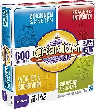 Hasbro 16577100 Cranium - Juego de Mesa (Contenido en alemán) [Importado de Alemania]: Amazon.es: Juguetes y juegos
