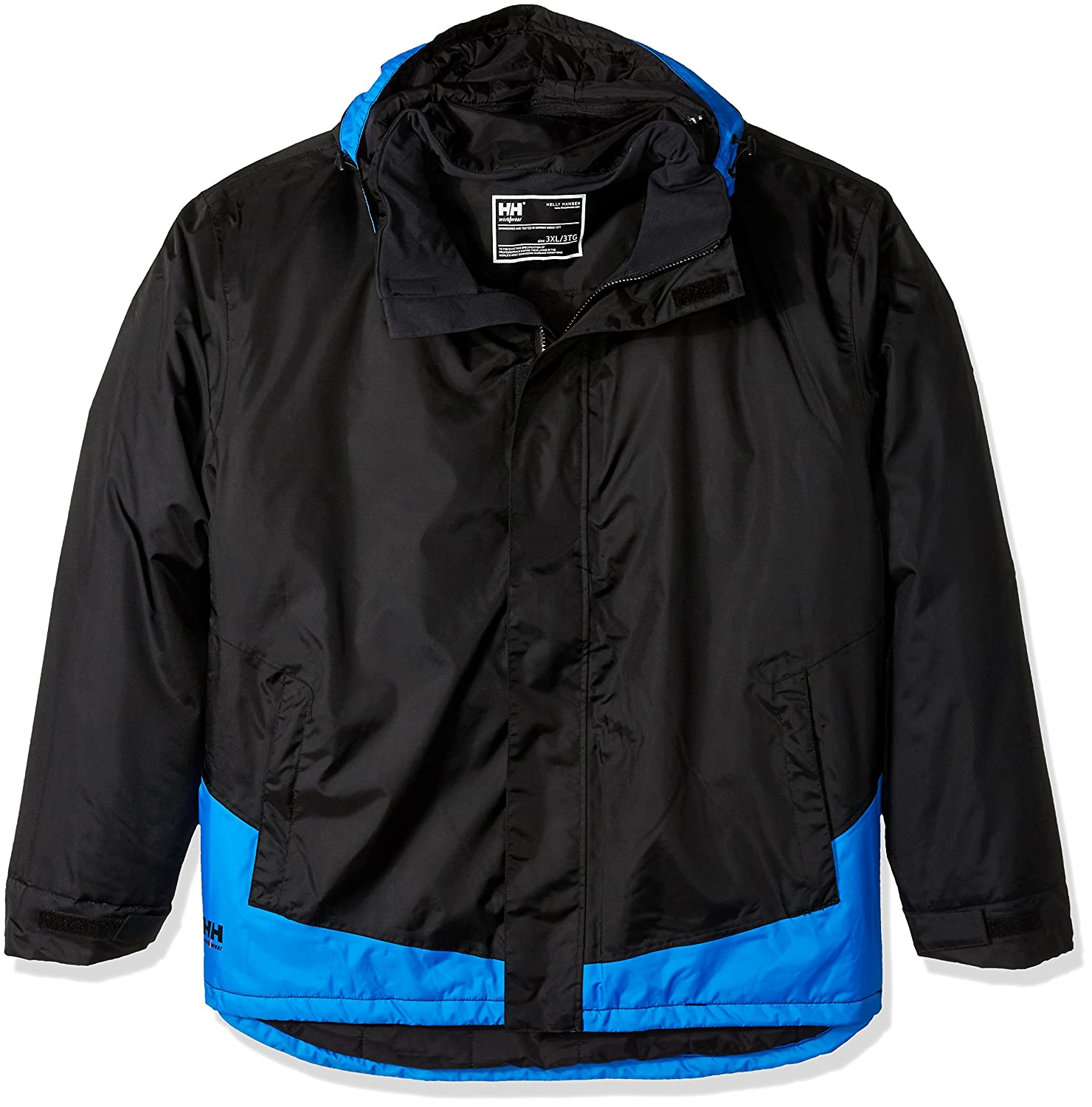 Helly HansenメンズBig and Tall Leknes Insulated Jacket B015EZHYFE 4L|Black/Racer Blue Black/Racer Blue 4L