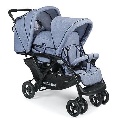 CHIC 4 Baby 274 55 Carrito Duo, Jeans Color Azul Claro/Azul ...