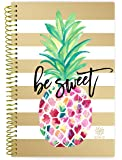 """Bloom Daily Planners 2018-2019 Academic Year Day Planner - Monthly and Weekly Calendar Book - Inspirational Dated Agenda Organizer - (August 2018 - July 2019) - 6"""" x 8.25"""" - Pineapple"""