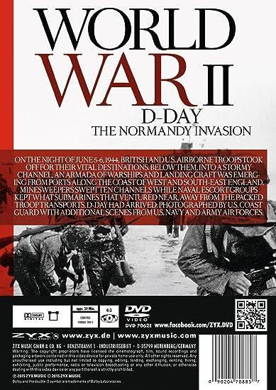 World War II - D-Day - The Normandy Invasion [DVD]: Amazon