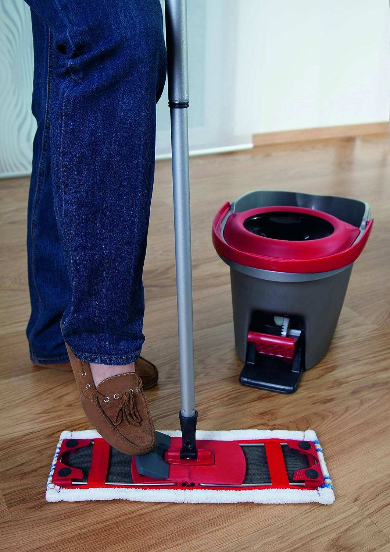 Mopa para el suelo extra-ancha, para cualquier tipo de suelo Vileda 140777 Premium 5 Multi Active