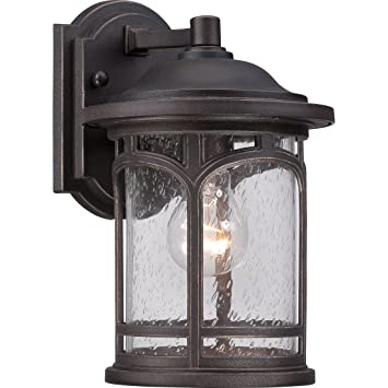 MBH8407PN One Light Wall Marblehead Outdoor Lantern In Palladian Bronze