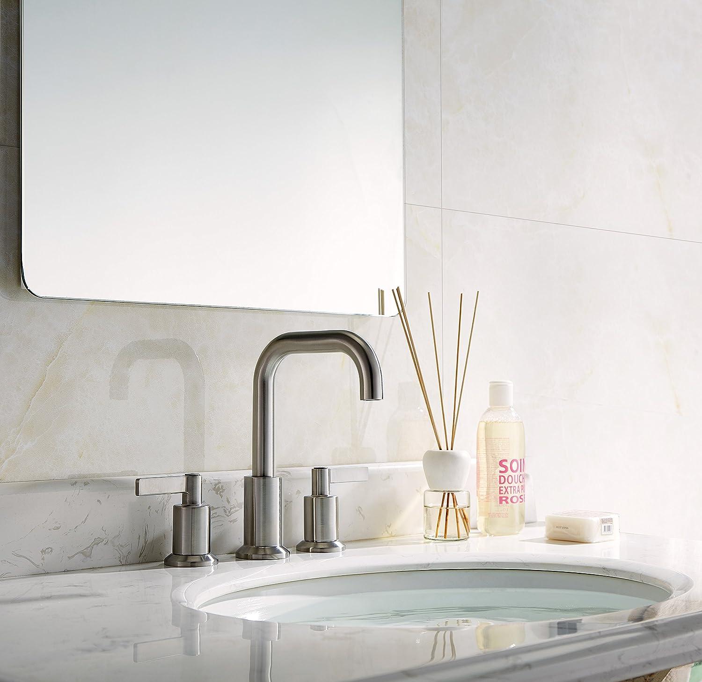 TimeArrow TAF288S-BN Two Handle 8 inch Widespread Bathroom Sink ...