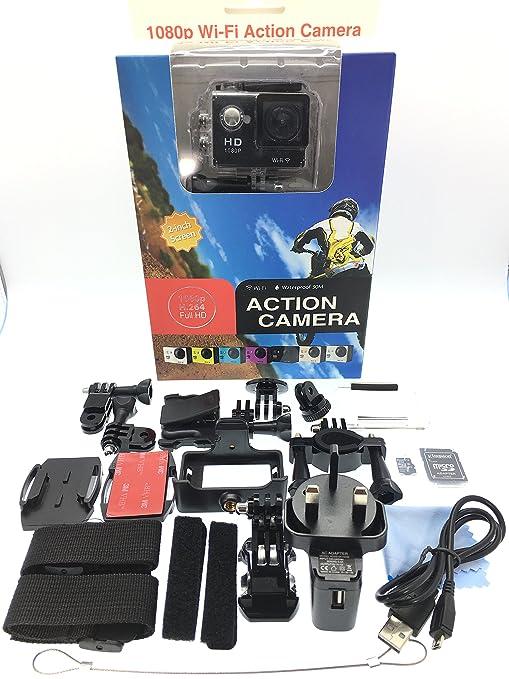 HD 1080P WiFi 12 MP mismo como SJ4000 Gopro 2 pulgadas deporte acción impermeable cámara Cam