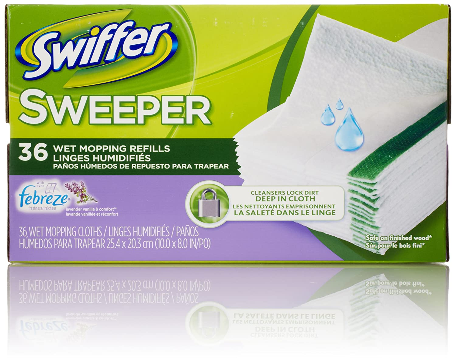 Amazon Com Swiffer Sweeper Wet Mop Pad Refills For Floor Mopping