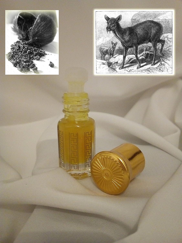 15ml Musk Himalaya - Deer Musk Gazellenmoschus Hirsch Natürlich Natural Oudh Attar alkoholfrei