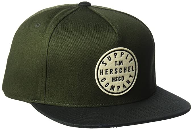 huge discount 3f9d3 5324a ... uk herschel supply co. mens tm cap forest night black one size a3664  0ffa4