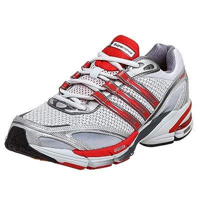 Adidas hombre 's supernova Cushion 7 corriendo zapatos , gris / rojo / hierro, M