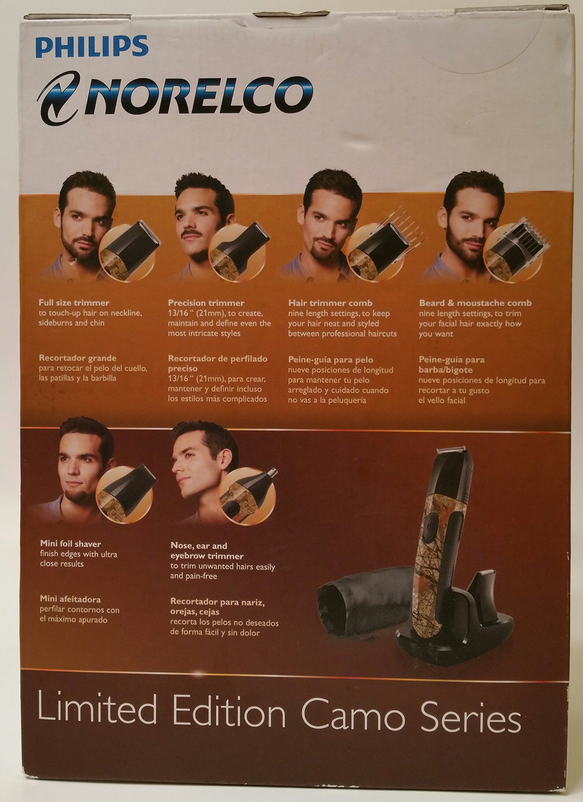 Norelco Multigroom Special Edition Camo Series Personal Grooming Kit
