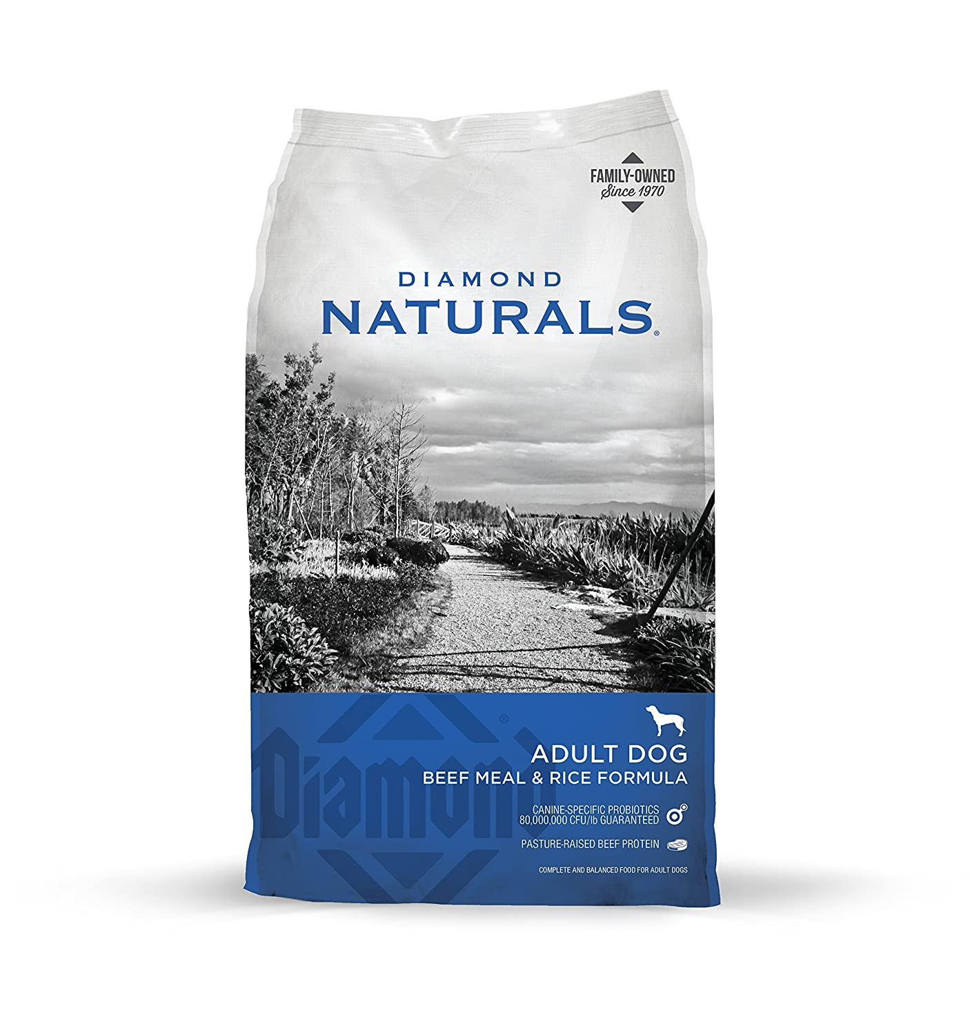 Diamond Naturals Dry Food for Adult Dog, Beef and Rice Formula