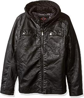 kemilove Mens Vintage Sheepskin Jacket Fur Leather Jacket ...
