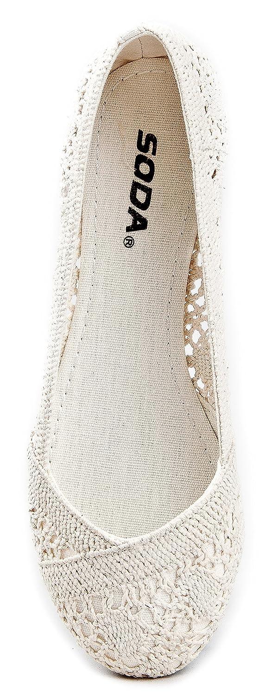 Soda Faddy-S Ballet Ballet-Flats B00847ETF8 9 B(M) US|Beige