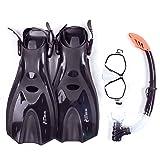 79f41628634 Two Bare Feet Mask Snorkel Fins/Flippers PVC Diving Set (Adults) - Scuba