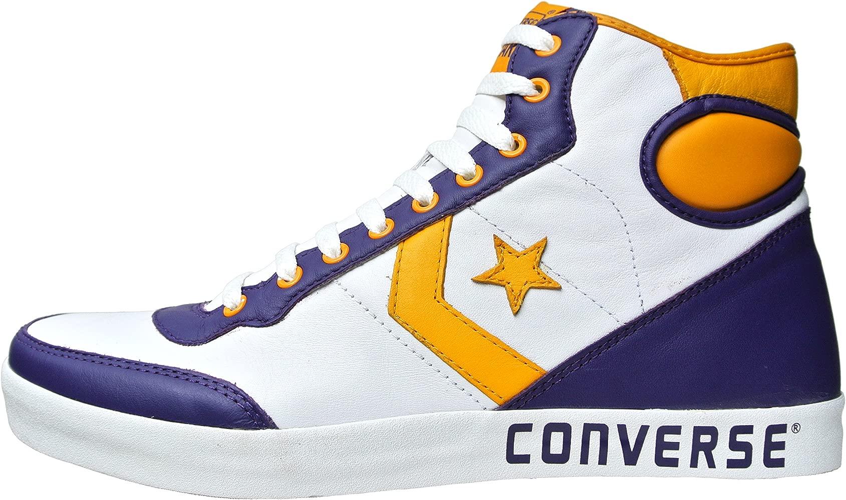 converse zapatillas altas piel hombre