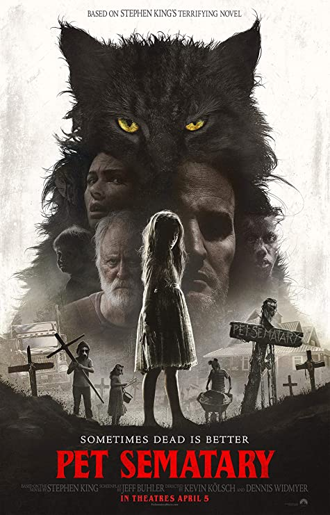 Image result for pet sematary movie poster
