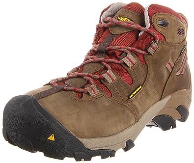 72872207a2b1 Amazon.com  KEEN Utility Women s Detroit Mid Steel Toe Work Boot  Shoes