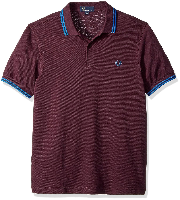 Fred PerryメンズTwin Tipped Shirt B071LG12XX S Bramble/Prince B Bramble/Prince B S