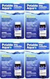 Potable Aqua Water Purification Iodine Tablets 4 Bottles with 50 Each (Four-Pack)