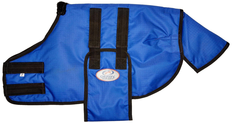 (Newborn Horse, Royal bluee) Derby Originals 600D Newborn No Hardware Safety Winter Blanket Insulated at Wholesale Price
