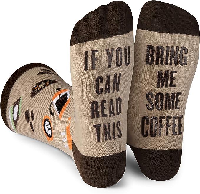Coffee Humor Socks