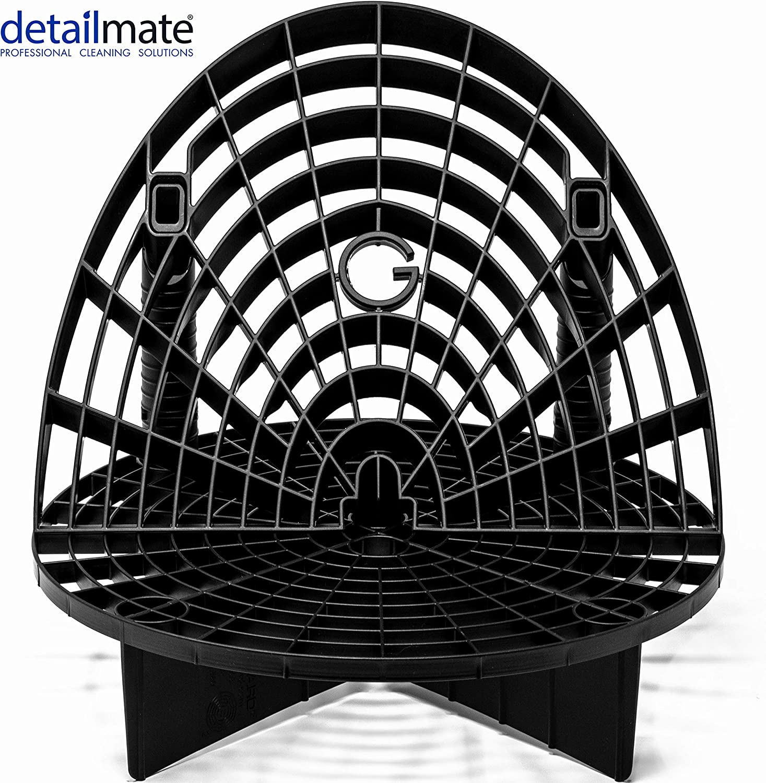 Detailmate Wascheimer Zubehör Set Gritguard Eimereinsatz 12 Schwarz Waschboard Bucket Insert Schwarz Für Wascheimer Z B Passend Für Chemical Guys 3 5 Gallonen Eimer Meguiar S Putzeimer Auto