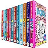 Dork Diaries By Rachel Renee Russell 12 Books Collection Set (Puppy Love, Holiday Heartbreak, TV Star, Pop Star, Frenemies Fo