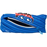 ZIPIT Talking Monstar Pencil Case, Blue