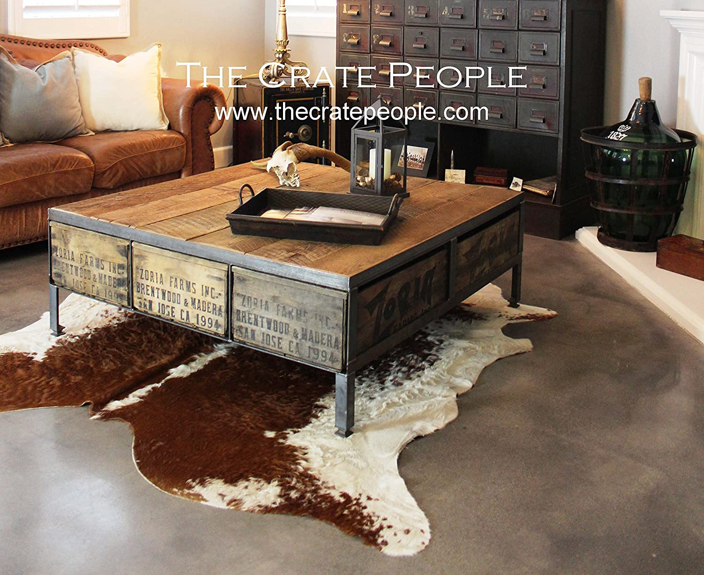 Tremendous Amazon Com The 48 Zoria Farms Coffee Table Reclaimed Uwap Interior Chair Design Uwaporg