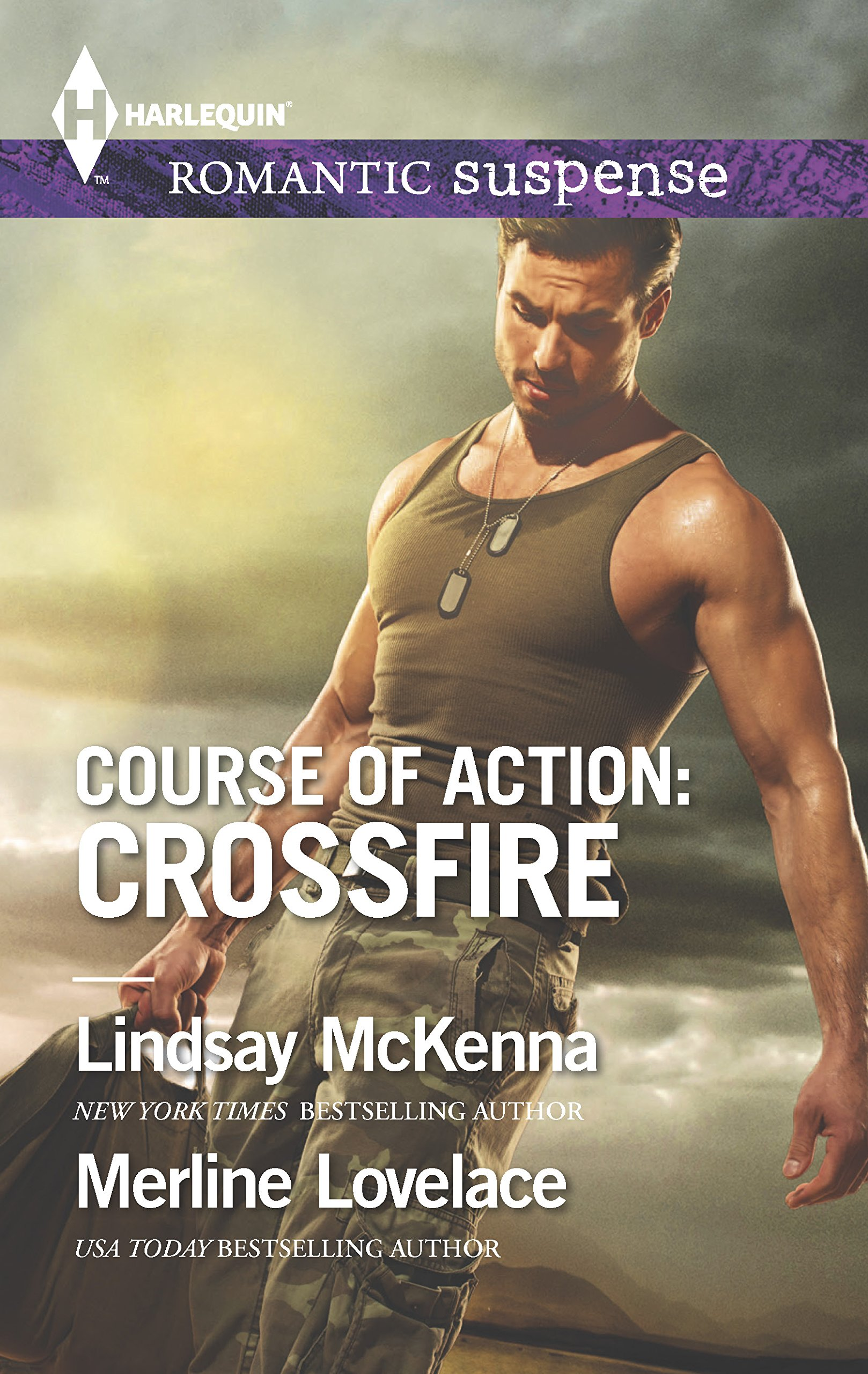 Course of Action: Crossfire (Harlequin Romantic Suspense) by Harlequin Romantic Suspense