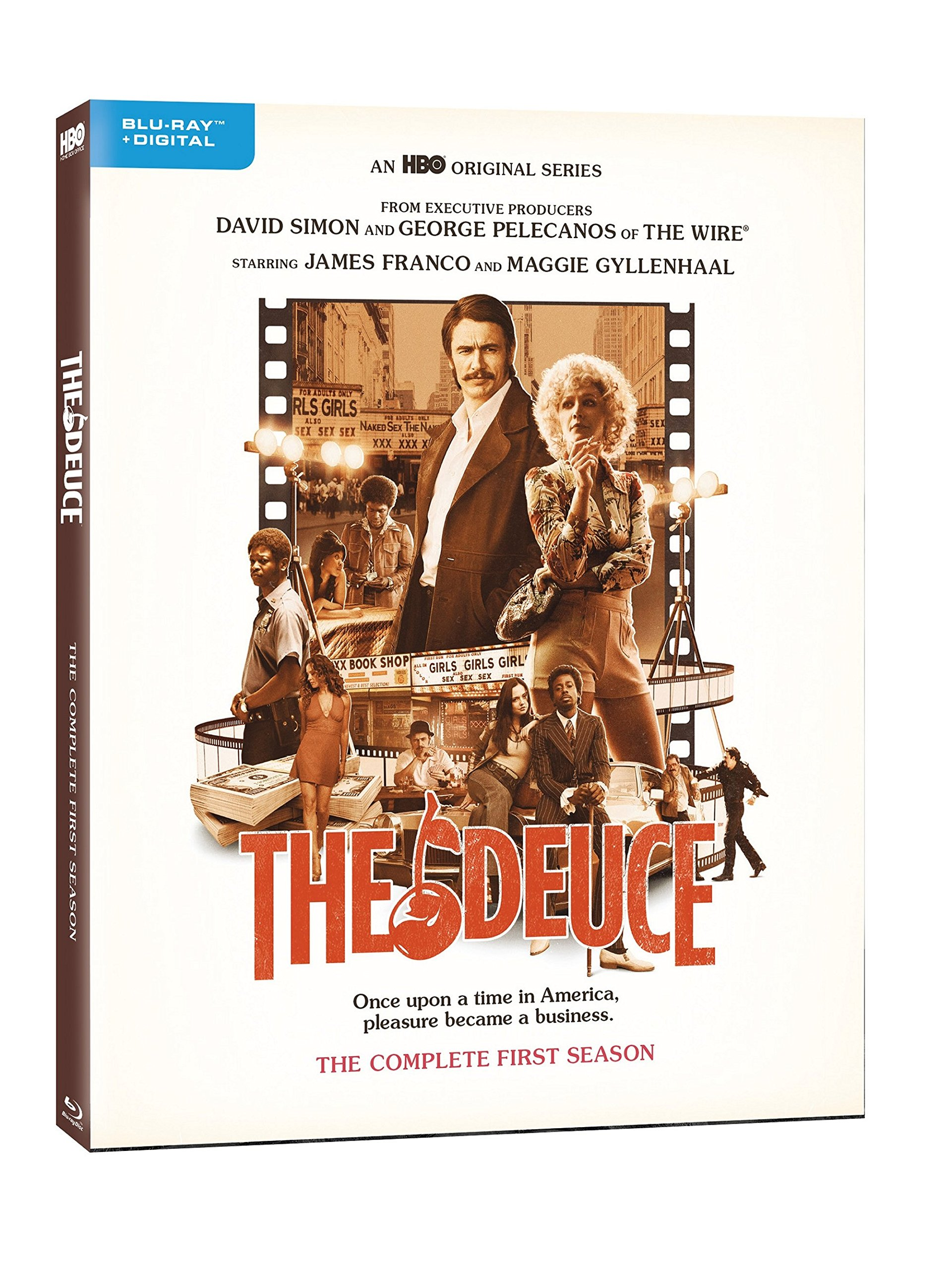 Blu-ray : The Deuce: The Complete First Season (Digitally Mastered in HD)