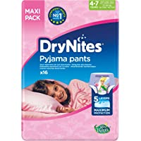 DryNites - Braguitas absorbentes para niñas de 4