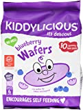 Kiddylicious Gluten Free Blueberry Wafers, 160 g, Pack of 4