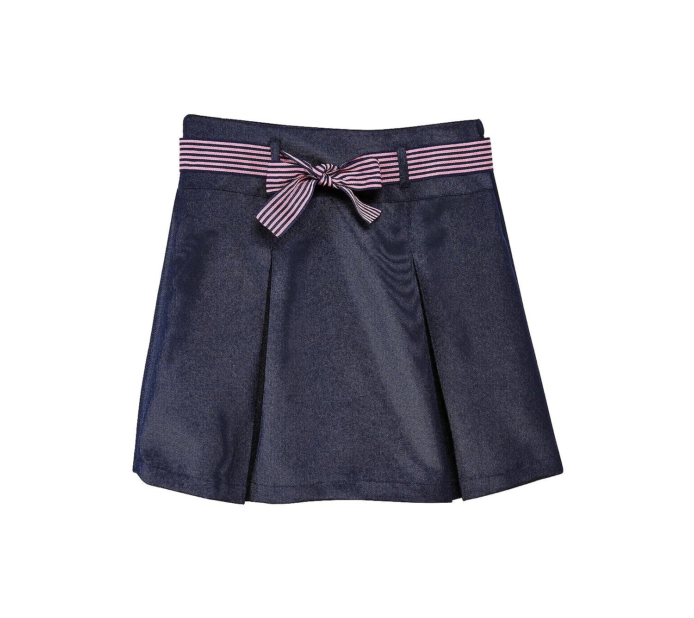 Nautica Girls' 7-16 Pleated Ribbon Scooter Skirt NCF0060E