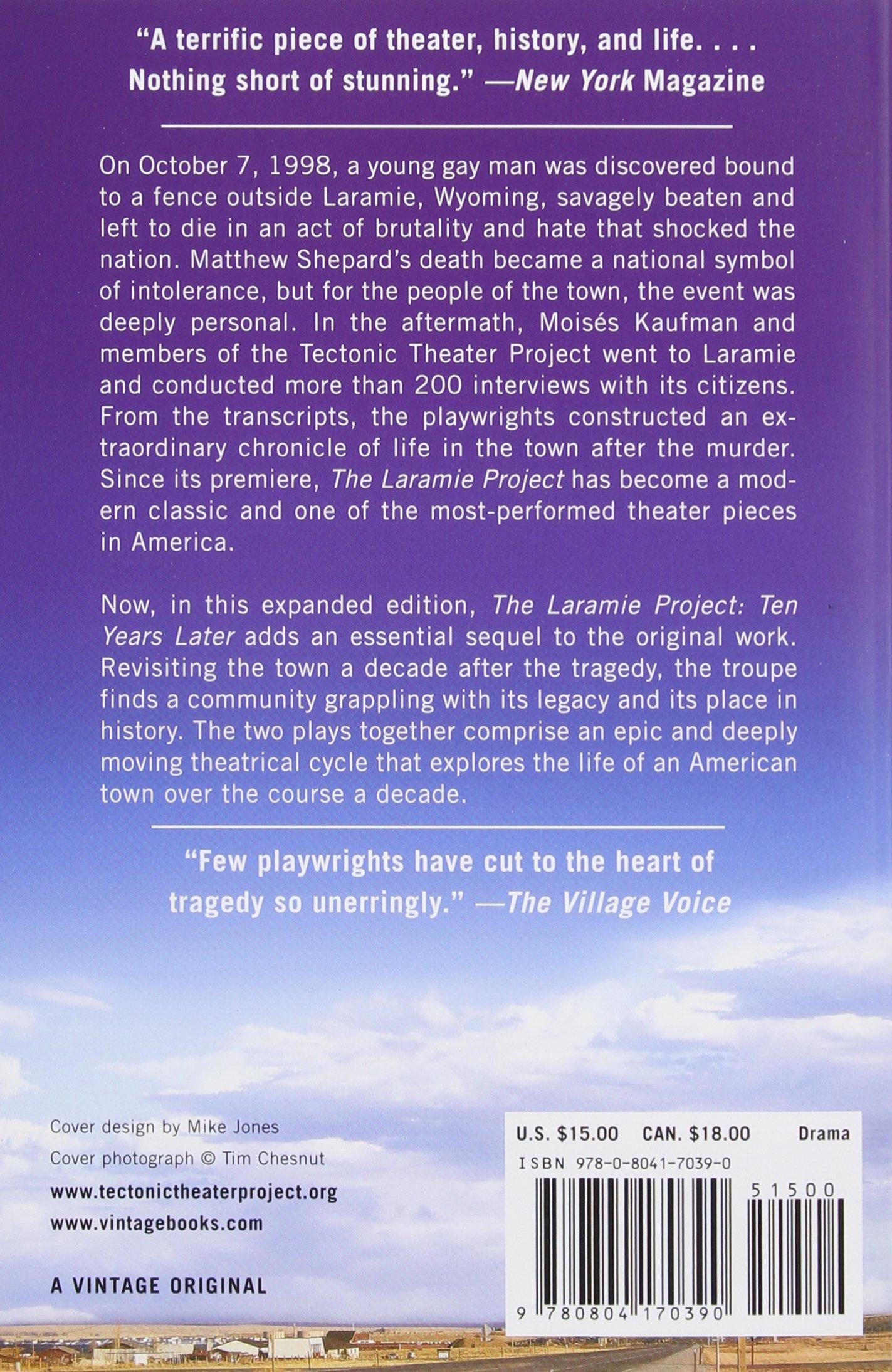 The Laramie Project Script Pdf