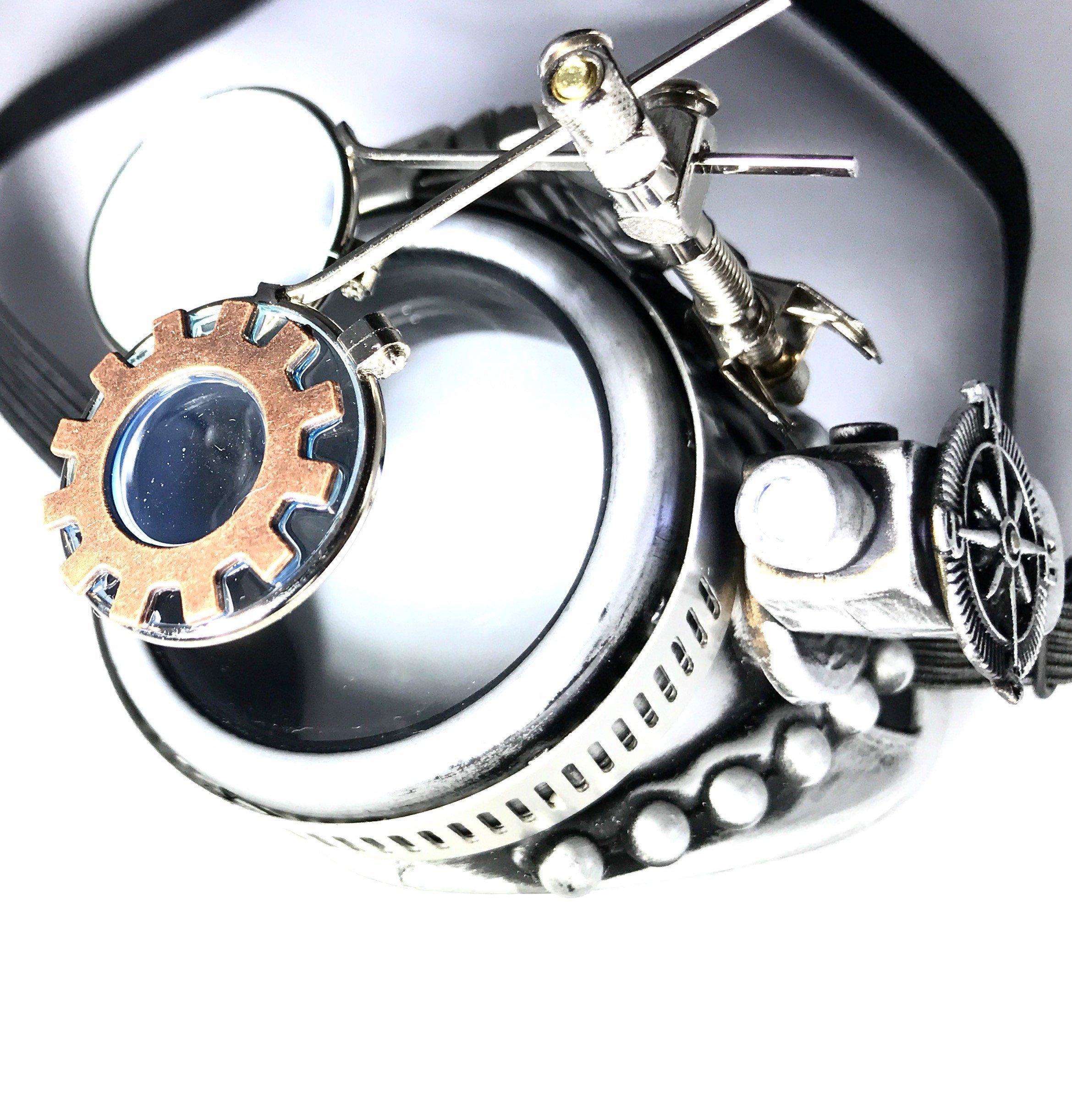Steampunk Goggles Festival Accessories Monocle 4